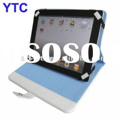 Hard Protective Leather case foldable with stander For The New iPad 3 3rd 2012 Version
