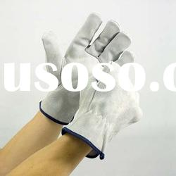 High Quality Cow Split Leather Keystone Driver Gloves