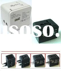 High Quality Multi-nation/universal travel adapter/plug with usb charger/socket