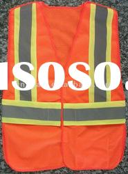 High Reflective Safety Vest With Adjustable Flaps
