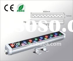 High quality!18W led wall washer RGB lighting (CE/ROHS)