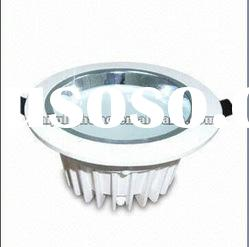 High quality 1-40w led downlight ROUND