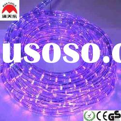 Holiday Indoor Decoration purple led rope light