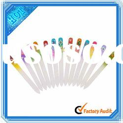 Hot ! Crystal Glass Nail Files With Rhinestone Green