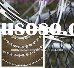 Hot Dipped Galvanized Razor Barbed Wire With Good Quality And Low Price