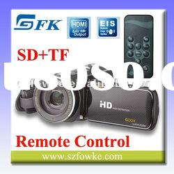 Hot Sale 720P Full HD Digital video camera,Portable Dual SD Card camcorder