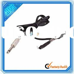 Hot Sale! Cheap! Black Tattoo Clip Cord/Tattoo Power Supply Clip Cord