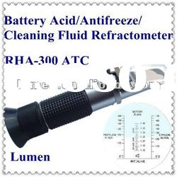 Hot Sale! Portable Hand-held Battery Acid/Antifreeze/Cleaning Fluid Refractometer RHA-100 ATC