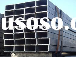 Hot dipped galvanized ASTMA53 rectangular steel pipes