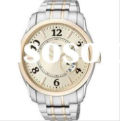 Hot!!!fashion 3atm water resistant stainless steel watch case