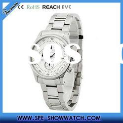 Hot!man watch japan movt quartz watch stainless steel back with gift box-oem