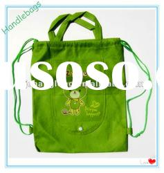 Hot sale drawstring non-woven bag