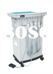 Hot sale portable dental unit with moveable wheels