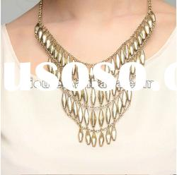 Jewelry wholesale jewelry gold plated vogue chunky necklace