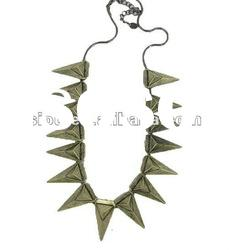 Jewelry wholesale jewelry vintage triangle vogue chunky necklace