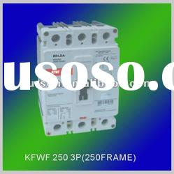 KFWF 250# 3P Moulded case circuit breakers/mccb/electric supply