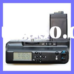 LCD Battery Grip with LCD Timer Control for Canon Rebel XS XSi T1i+Remote+2X LP-E5