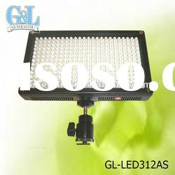 LED Video Light for Camera DV Camcorder GL-LED312AS