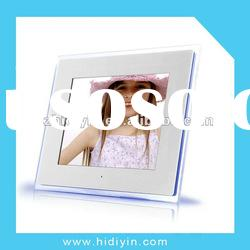 LED moon light wedding photo album 10.4inch multimedia digital