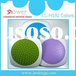 Leelongs Colorful ABS overhead shower Head