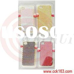 Leopard Look with Rhinestone Mobile Phone Case,for iphone 3g 3gs 4g