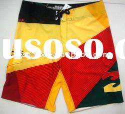 Men's beach shorts mens running shorts colorful men beach shorts