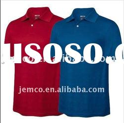 Men's polo shirt, cotton twill t-shirt for men, short sleeve t-shirt