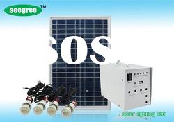 Mini Solar Power System - LED Light Kit