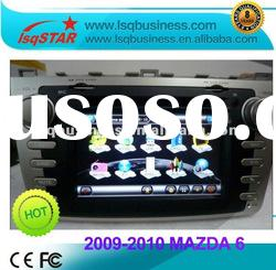 NEW 2009-2010 Mazda 6 car dvd auto dvd with gps navi, in black panel & hot selling
