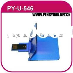 New Style credit card usb flash drives with customized logo & design printing