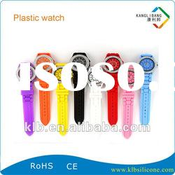New silicone slap style watch plastic product