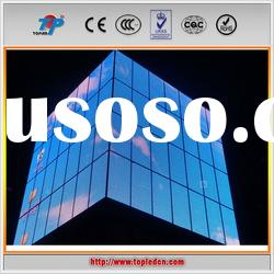 Outdoor Curtain LED video wall for advertising