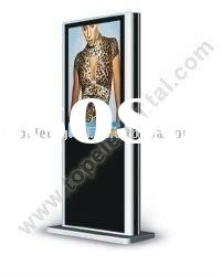 Outdoor advertising display floor standing 47 inch