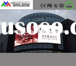 P16 Outdoor advertising Building Led Wall Display