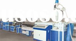PE/PP/PVC/ABS/PA profile extruding production line