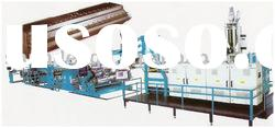 PE/PP Plastic Thick Plates /Sheets Extruding Production Line