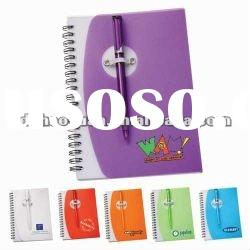 PP cover spiral notebook for promotion-HYXQ046