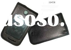 PU Leather Mobile Phone Case With Transparent PVC Window