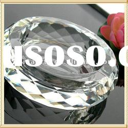 Personalized Facted Optic Crystal Blank Ashtray Business Gifts