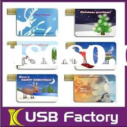 Popular Mini Card Shaped usb flash driver from China shenzhen