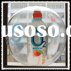 Printing clear cheap inflatable transparent beach ball