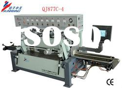 QJ877C-4 full-automatic horizontal straight line double beveling machine