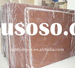 Qingdao Natural Red Marble Stone Slab