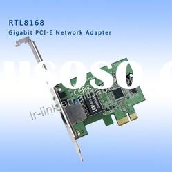 Gigabit Realtek on Realtek 8168 Gigabit Pci Express Ethernet Types Of Lan Card