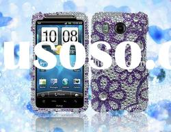 Rhinestone mobile phone case for HTC Inspire 4G