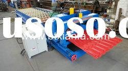 Roof Panel Color Steel Sheet Roll Forming machine XF30-145-1020