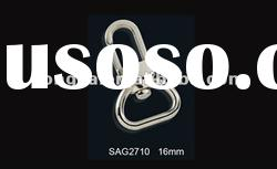 SAG2710 16MM Zinc alloy dog hook plated silver color