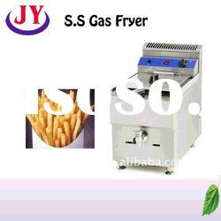 S.S Gas Fryer,gas fryer catering equipment,commercial electric fryer