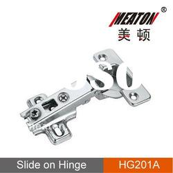 Slide-on One Way Door Hinge For Cabinet