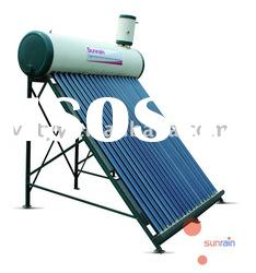 Solar Water Heater with Copper Coil as Heat Exchanger